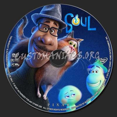 Soul dvd label