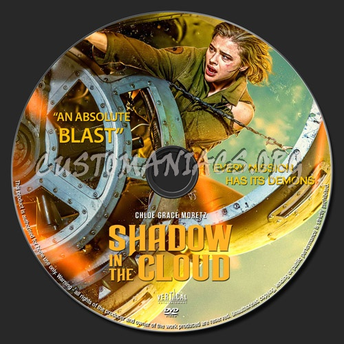 Shadow In The Cloud dvd label