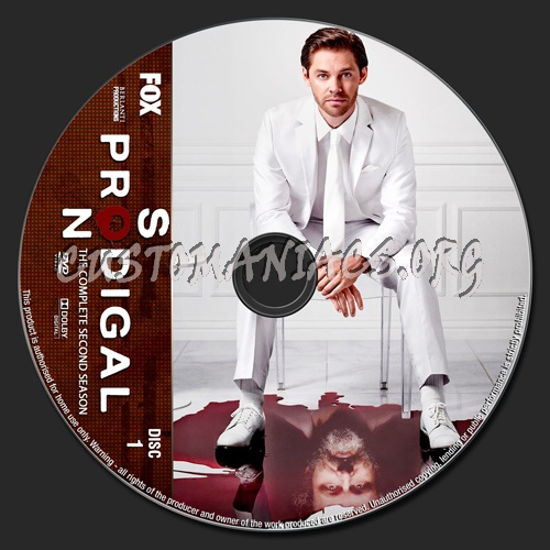 Prodigal Son Season 2 dvd label