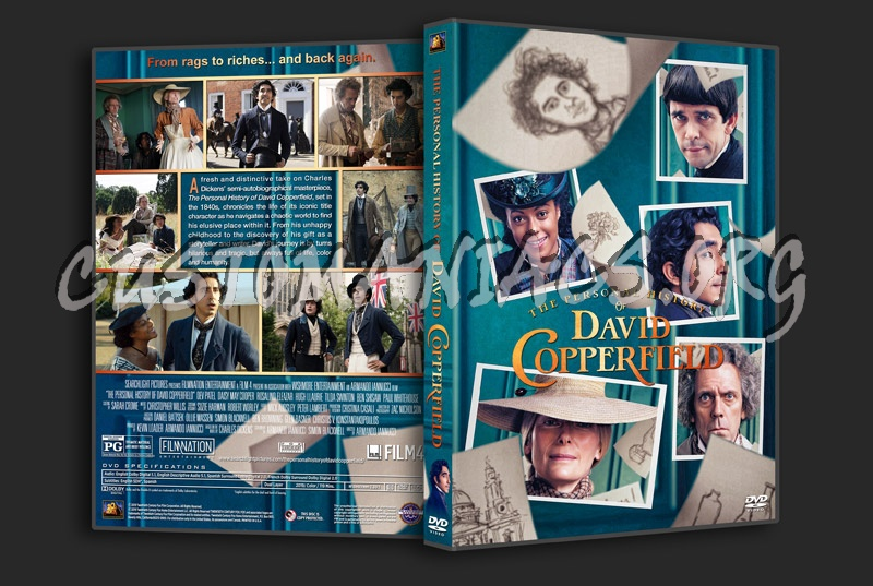 The Personal History of David Copperfield dvd cover