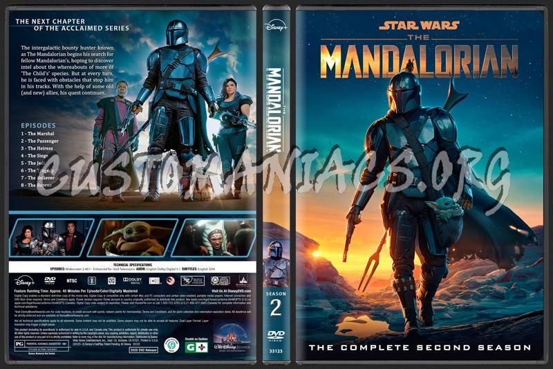 The Mandalorian - Season 2 dvd cover