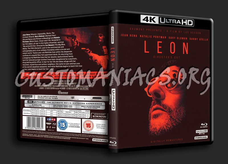 Leon The Professional blu-ray cover