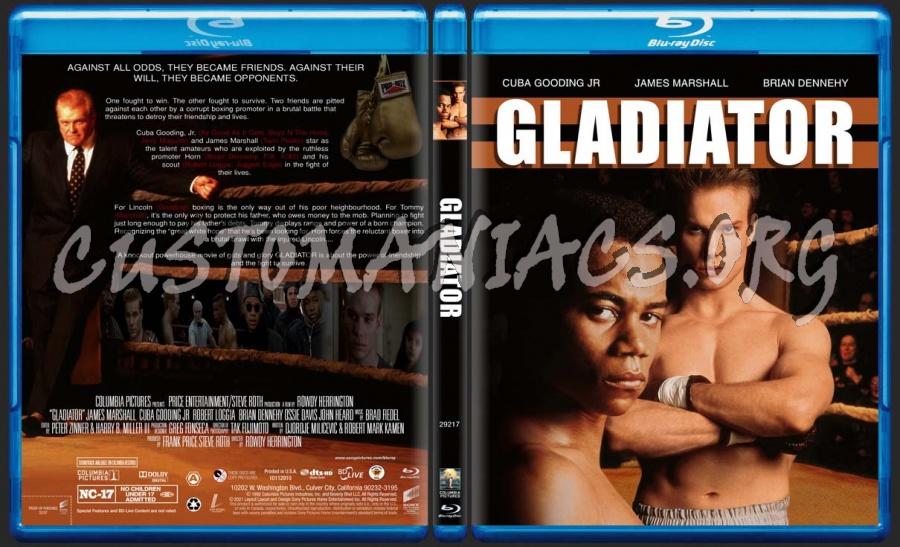 Gladiator blu-ray cover