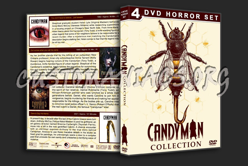Candyman Collection dvd cover