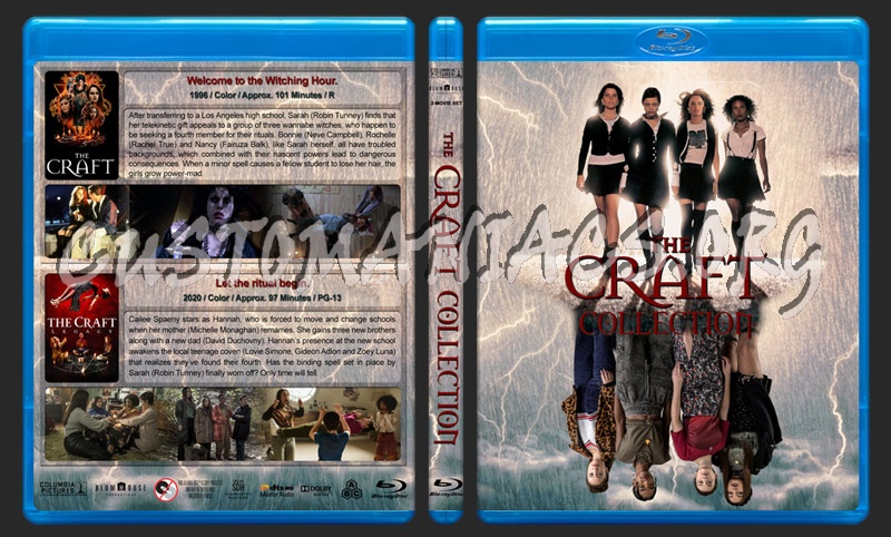 The Craft Collection blu-ray cover