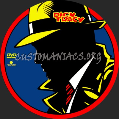Dick Tracy dvd label