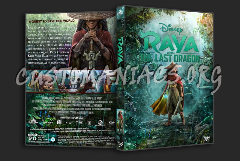 Raya and the Last Dragon dvd cover