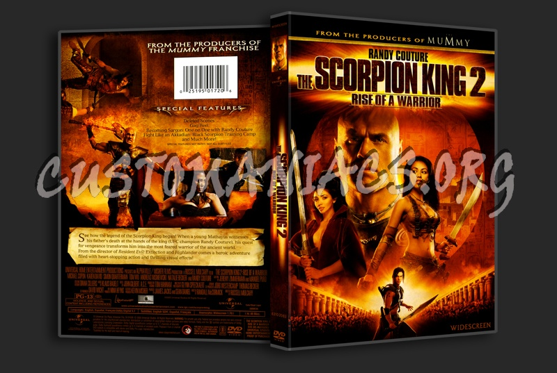 The Scorpion King 2: Rise of a Warrior dvd cover