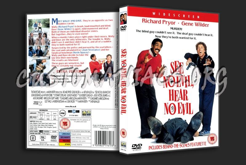 See no Evil, Hear no Evil dvd cover