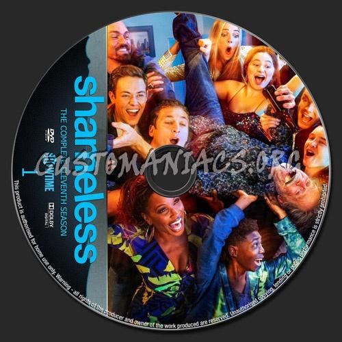 Shameless US Season 11 dvd label