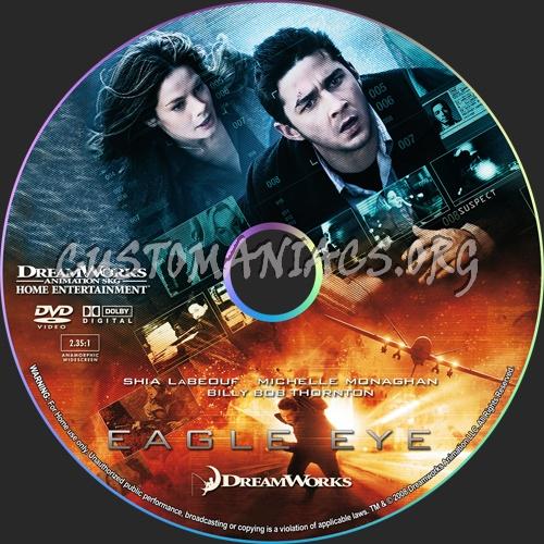 Eagle Eye dvd label