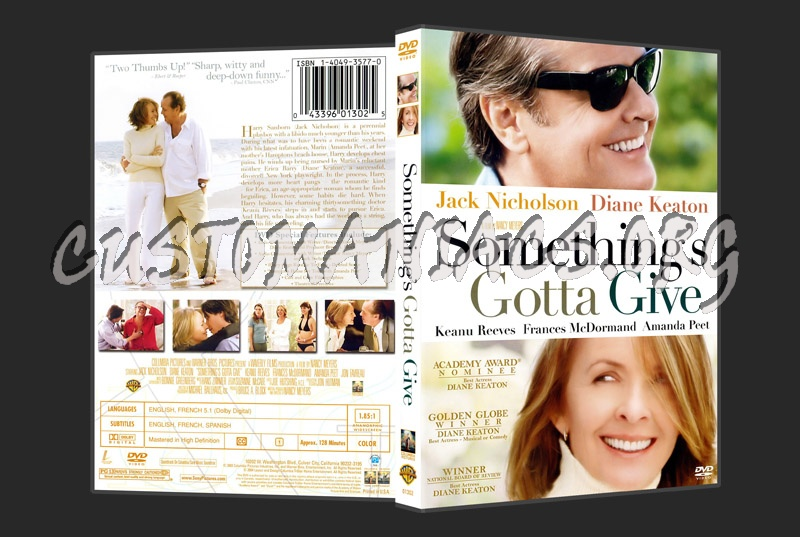 Something's gotta give dvd cover