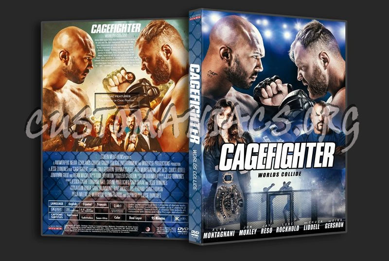 Cagefighter Worlds Collide (2020) dvd cover