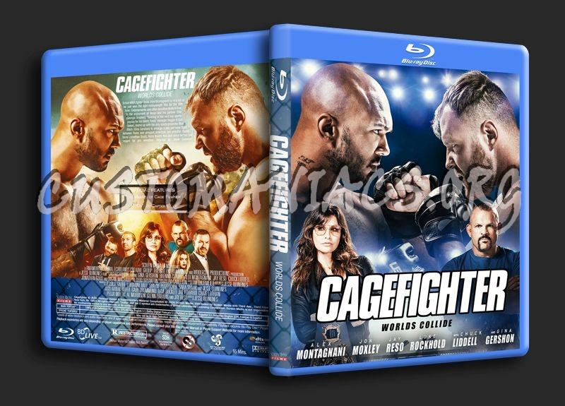 Cagefighter Worlds Collide (2020) blu-ray cover