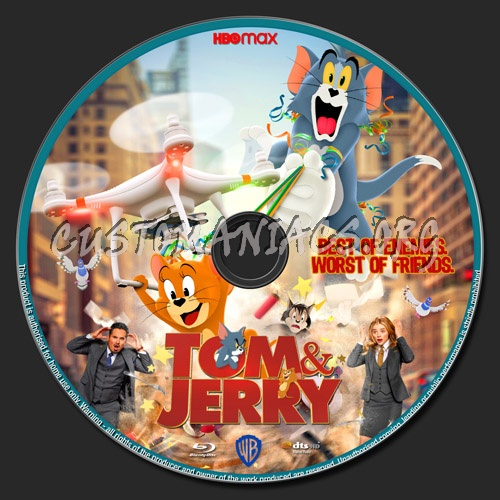Tom & Jerry blu-ray label