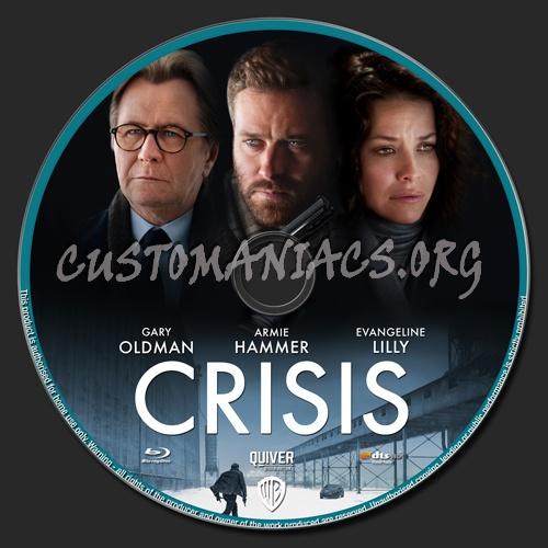 Crisis blu-ray label