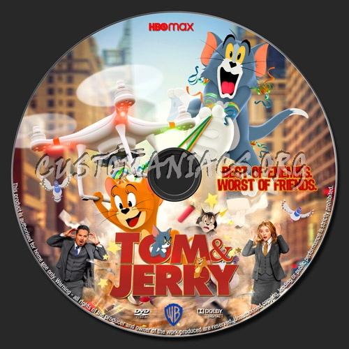 Tom & Jerry dvd label