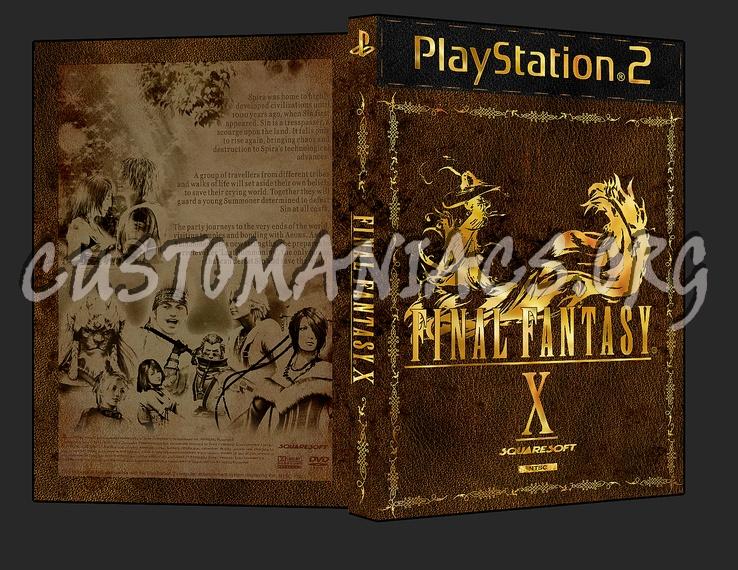 Final Fantasy X dvd cover