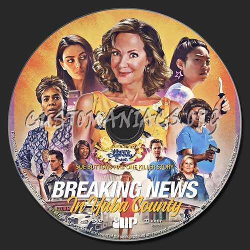 Breaking News In Yuba County dvd label