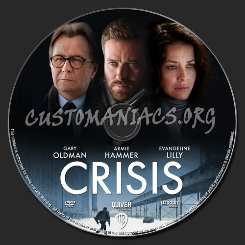 Crisis dvd label