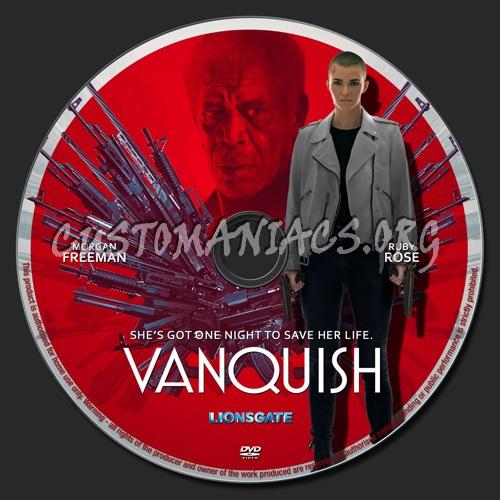 Vanquish dvd label