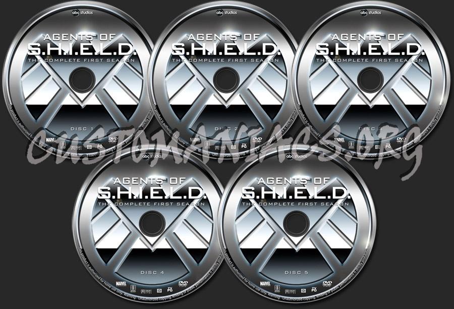 Agents of S.H.I.E.L.D. - Season 1 dvd label
