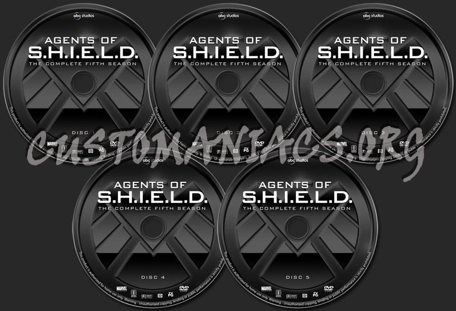 Agents of S.H.I.E.L.D. - Season 5 dvd label