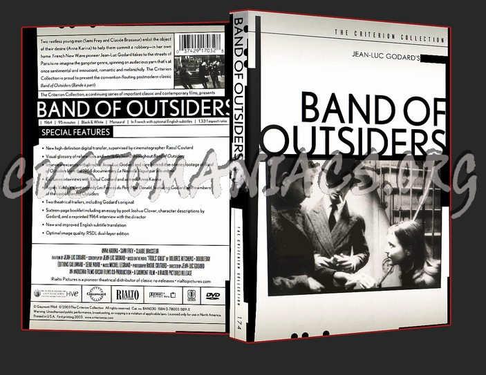 174 - Band Of Outsiders dvd cover