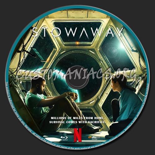 Stowaway blu-ray label