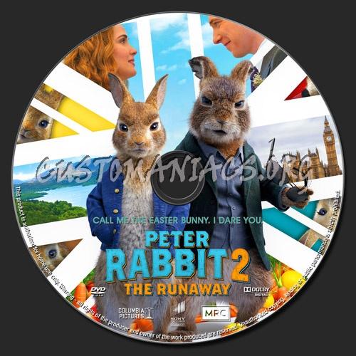 Peter Rabbit 2 The Runaway dvd label