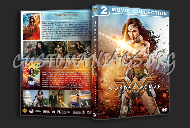 Wonder Woman Collection dvd cover