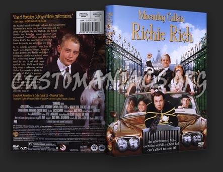 Richie Rich dvd cover