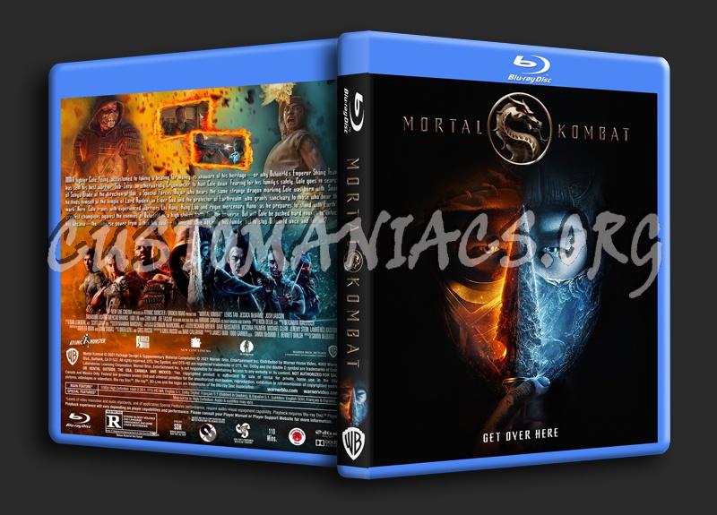 Mortal Kombat (2021) dvd cover