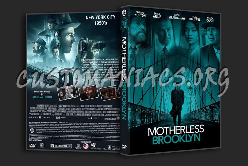Motherless Brooklyn dvd cover
