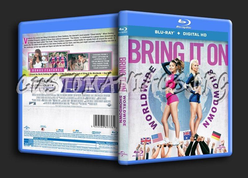 Bring it On Worldwide Showdown blu-ray cover