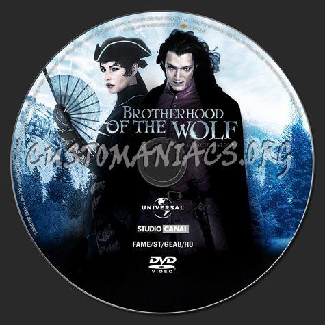 Brotherhood of the Wolf dvd label