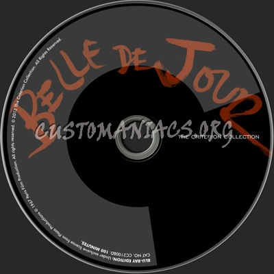 593 - Belle de Jour (1967) dvd label