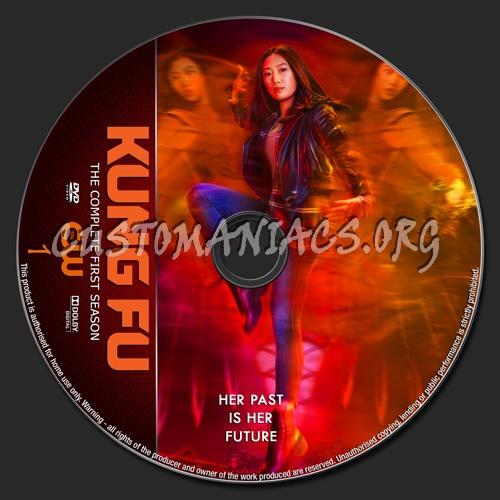 Kung Fu Season 1 dvd label