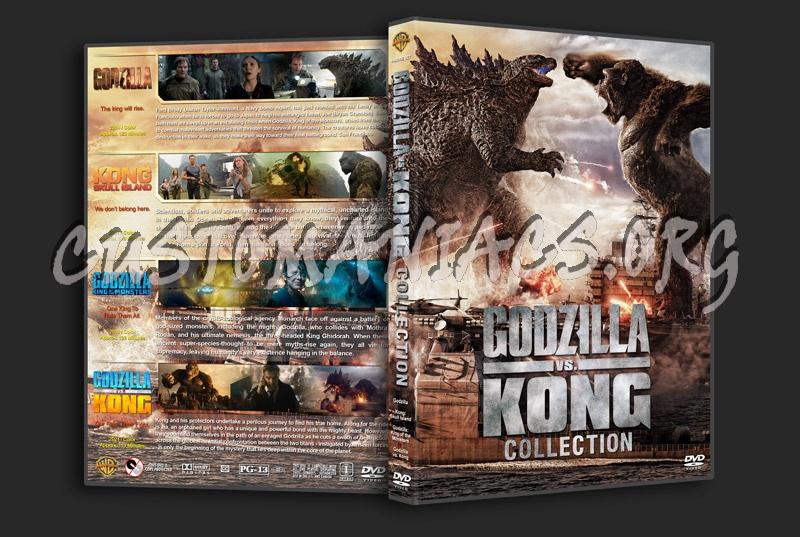 Godzilla vs.King Kong Collection dvd cover