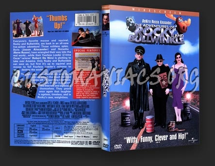The Adventures of Rocky and Bullwinkle dvd cover