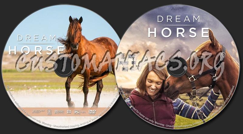 Dream Horse dvd label