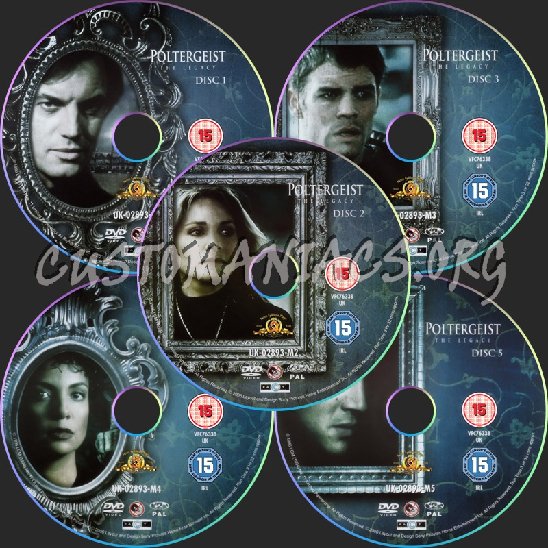 Poltergeist The Legacy: Season 1 dvd label - DVD Covers