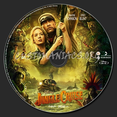 Jungle Cruise (2021) blu-ray label