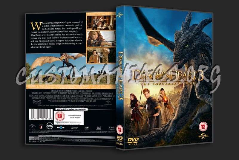 Dragonheart The Sorcerer's Curse dvd cover