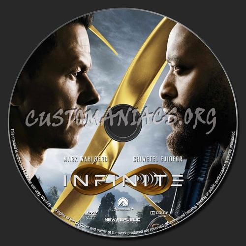 Infinite dvd label