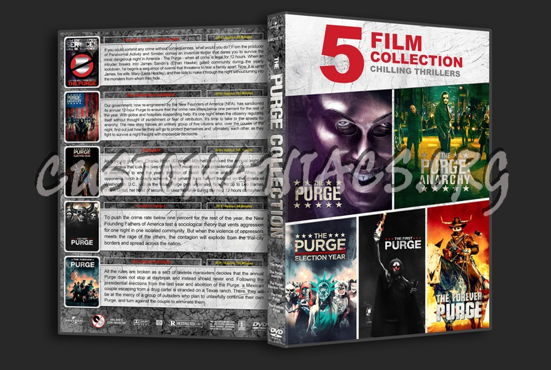 The Purge Collection (5) dvd cover