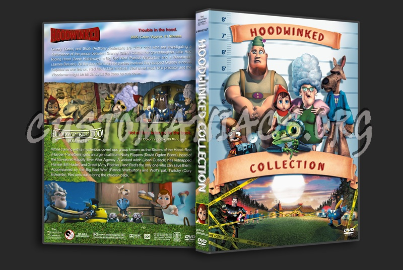 Hoodwinked Collection dvd cover