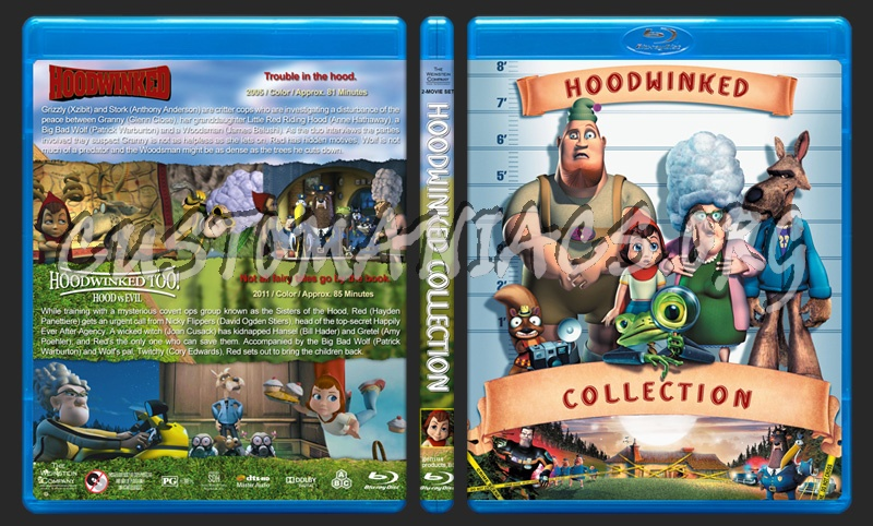 Hoodwinked Collection blu-ray cover