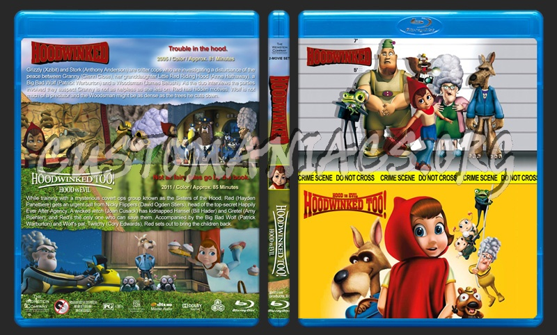 Hoodwinked Double Feature blu-ray cover