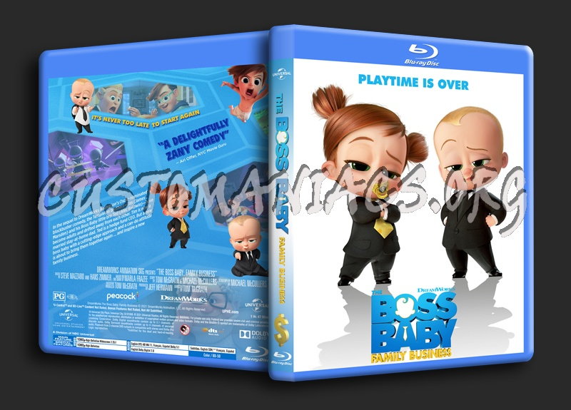 The Boss Baby: Family Business dvd cover